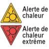 Alerte de chaleur et d'humidité sur la région
