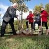 Un arbre pour les 10 ans de la nouvelle ville de Valleyfield