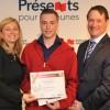 Un athlète de Sainte-Barbe reçoit une bourse de 4 000 $