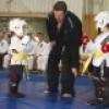 Démonstration d'arts martiaux au profit de la Fondation de l'Hôpital