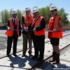 Terminal intermodal – une nouvelle voie ferrée inaugurée