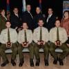 Quatre policiers honorés à Vaudreuil-Dorion