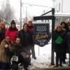 Austérité – Des citoyens du Haut-Saint-Laurent manifestent