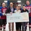 22 000 $ pour la Fondation de l'Hôpital grâce aux Alouettes