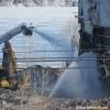 Incendie majeur à l'usine de recyclage Kruger