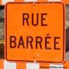 25 janvier : fermeture de la rue Grande-Île entre Danis et Loy