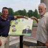 Nouveau terrain de balle et hommage à Jean-Guy Ste-Marie