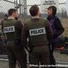 Manifestation au pipeline: Enbridge se défend, la MRC réplique