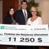 La Caisse Desjardins de Bellerive remet 11 250 $ à la FRAS