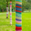 Activités pour la Journée mondiale du tricot à Vaudreuil-Dorion