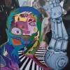 Dos au miroir : Exposition artistique de Christine LeBlanc