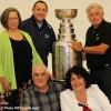 Jacques Martin et la Coupe Stanley à Rigaud