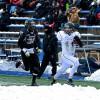 Même sous la neige, le Noir et Or joue en champion !