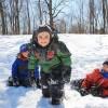 Plaisirs d'hiver en famille au Parc régional des îles