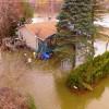 524 habitations touchées par les inondations à Rigaud