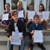 Les lauréats du Conseil des maires d'un jour de la MRC