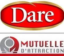 Aliments_Dare logo et Mutuelle_d_attraction logo publies par INFOSuroit