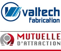 Valtech Fabrication et Mutuelle d_attraction logos pour INFOSuroit
