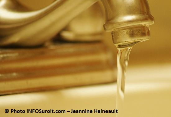 Travaux sur le réseau d'eau potable à Beauharnois