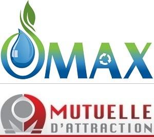 logo Distribution O-Max et logo Mutuelle_d_attraction pour INFOSuroit