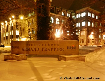 Bibliotheque Armand-Frappier du College de Valleyfield Photo INFOSuroit.com_