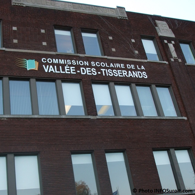 Commission-scolaire-Vallee-des-Tisserands-siege-social-a-Beauharnois- Photo-INFOSuroit-com_