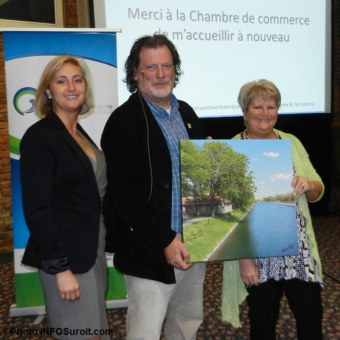 Fran ois de grandpr bilan touristique positif for Chambre de commerce valleyfield