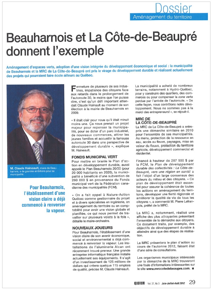 Magazine-QUORUM-ete-2012-Claude-Haineault-Beauharnois-publie-par-INFOSuroit-com_