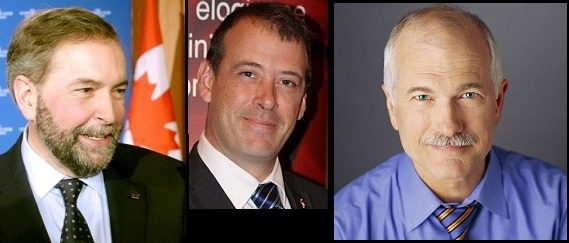 Thomas-Mulcair-Jamie-Nicholls-et-Jack-Layton-Photos-publiees-par-INFOSuroit-com_