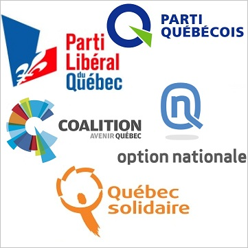 Partis-politiques-au-Quebec-elections-2012-PLQ-CAQ-QS-PQ-ON-logos-publies-par-INFOSuroit-com_