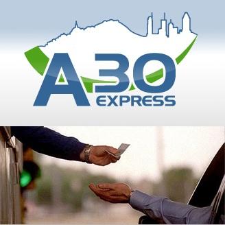 A30-Express-logo-et-peage-Photo-du-site-Web-A30express-com-publiee-par-INFOSuroit