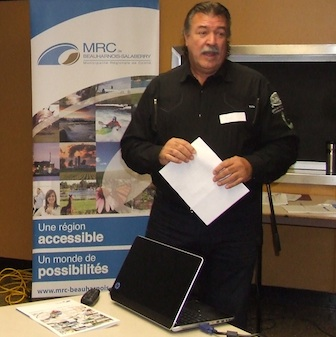 Yves Daoust de la MRC de Beauharnois-Salaberry Photo courtoisie publiee par INFOSuroit
