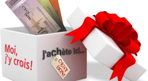 Magasinage optez pour des certificats cadeaux for Chambre de commerce valleyfield