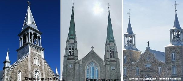 Eglises-Ste-Jeanne-de-Chantal-Sainte-Cecile-et-St-Joachim-clochers-Photos-INFOSuroit_com-Jeannine-Haineault