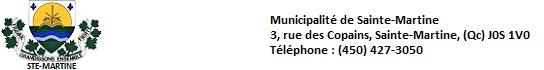 Municipalite-de-Ste-Martine-logo-et-adresse-pour-INFOSuroit