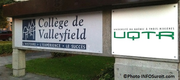 College-Valleyfield-UQTR-enseigne-exterieure-Photo-INFOSuroit_com