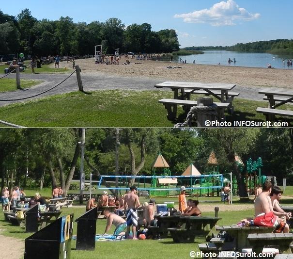Plage-du-parc-regional-des-iles-Volleyball-module-de-jeux-tables-pique-nique-Photos-INFOSuroit_com