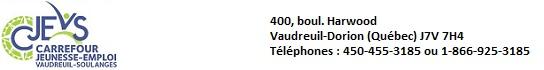 Carrefour_Jeunesse-emploi-Vaudreuil-Soulanges-logo-et-coordonnees-pour-INFOSuroit