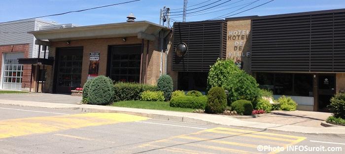 Hotel de ville de Sainte-Martine et caserne de pompiers Photo INFOSuroit_com