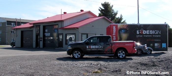 T2Design Valleyfield atelier et vehicules Photo INFOSuroit_com