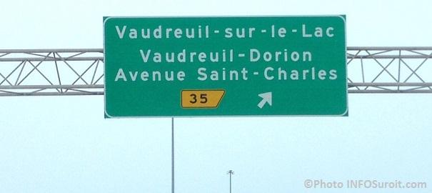 autoroute 40 viaduc Avenue St-Charles Vaudreuil-Dorion Photo INFOSuroit_com