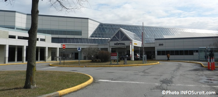 Hopital Anna-Laberge a Chateauguay Photo INFOSuroit_com