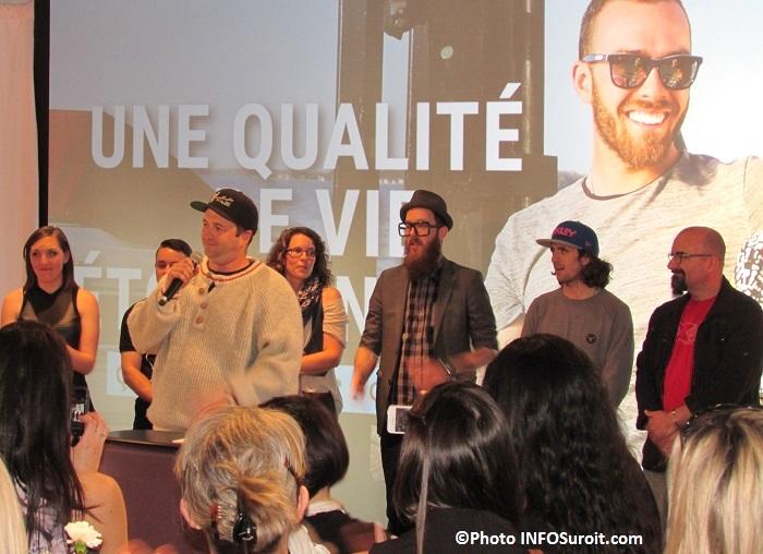 ambassadeurs de la campagne promotion Beauharnois-Salaberry Photo INFOSuroit_com