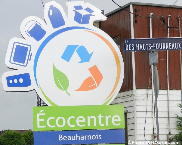 Ecocentre Beauharnois enseigne Photo INFOSuroit_com