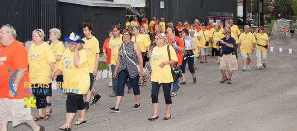 Relaispourlavie Chateauguay Tour des survivants 2015 Photo courtoisie SCC