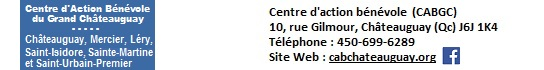 CAB Grand Chateauguay coordonnees pour page Partenaires INFOSuroit vVilles