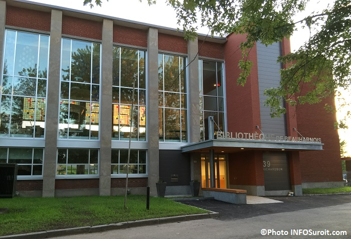 nouvelle bibliotheque de Beauharnois Photo INFOSuroit_com