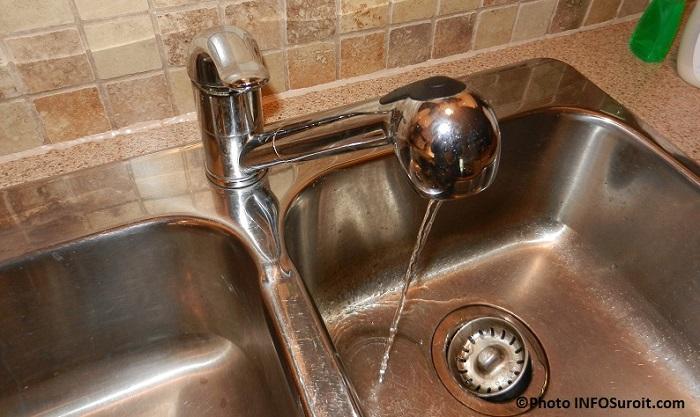 eau potable lavabo robinet Photo INFOSuroit_com