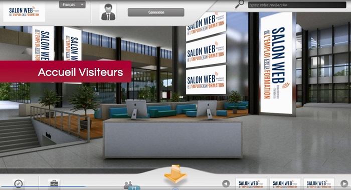 Salon Web Emploi et Formation accueil du site Image courtoisie Mutuelle d attraction