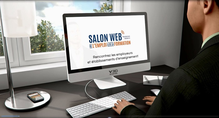Salon Web Emploi et formation Image promo via Mutuelle d attraction
